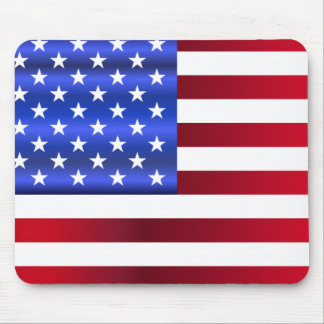 Pretty Patriotic Stars & Stripes Mouse Pad