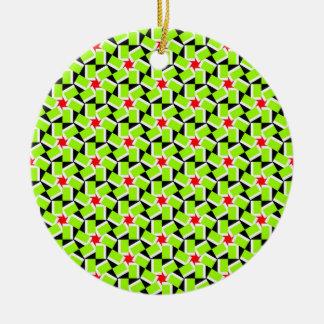 Pretty Pattern 01 Christmas Ornaments