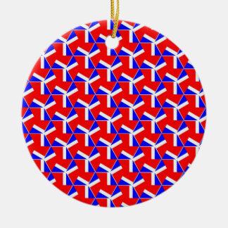 Pretty Pattern 03 Christmas Tree Ornaments