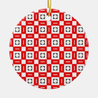 Pretty Pattern 04 Christmas Tree Ornaments