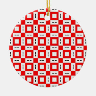 Pretty Pattern 06 Christmas Ornaments