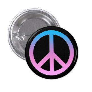 Pretty Peace Symbol Button