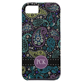 Pretty Peacock Colors Paisley Pattern iPhone 5 Cover