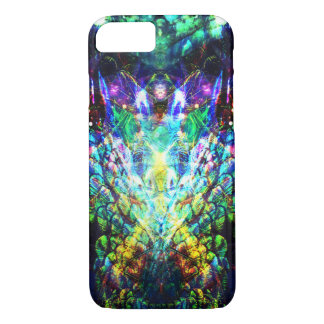 Pretty Peacock Feather Abstract Design Phone Case