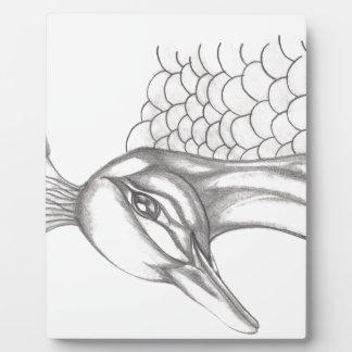 Pretty Peacock Plaque
