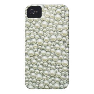 Pretty Pearl Bling Glitter iPhone 4 Cover