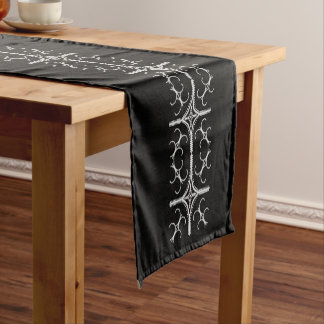 Pretty Pearly Cotton Table Runner