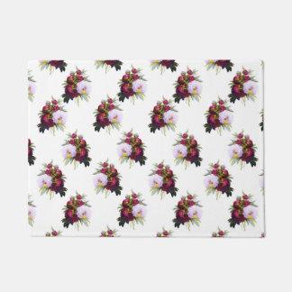 Pretty Peonies Pattern Doormat