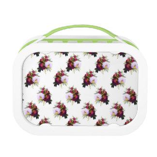 Pretty Peonies Pattern Lunch Box