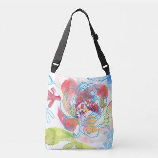Pretty Peony Crossbody Bag