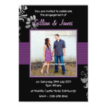 Pretty Personalised Photo Engagement Party Announcement