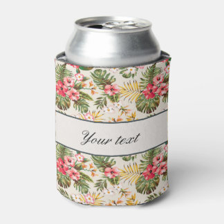 Pretty Personalized Hibiscus Pattern