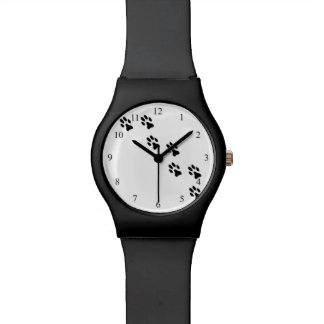 Pretty Pet Paw Prints Wrist Watch