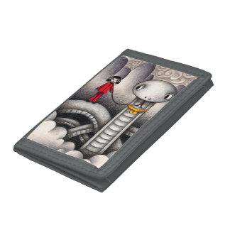 Pretty pet trifold wallet