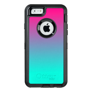 Pretty Pink and blue cotton candy OtterBox iPhone 6/6s Case