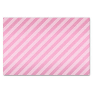 Pretty Pink and Diagonal Stripes Tissue Paper