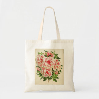 Pretty Pink and White Azaleas Tote Bag