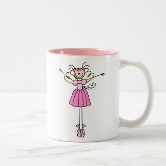 Pretty Pink Angel Ballerina Mug