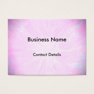 Pretty pink appointment business card
