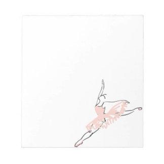 Pretty Pink Ballerina Notepads