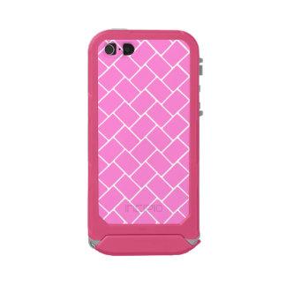 Pretty Pink Basket Weave Incipio ATLAS ID™ iPhone 5 Case