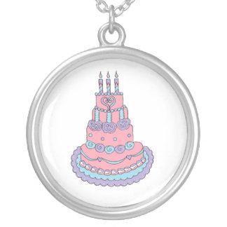 Pretty Pink Birthday Cake Custom Jewelry