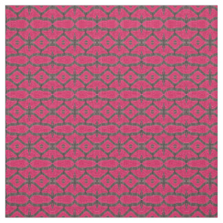 Pretty pink black pattern fabric