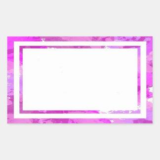 Pretty Pink Border Stickers