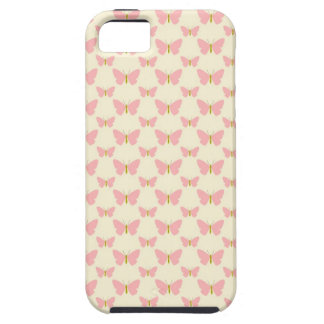 Pretty pink butterflies iPhone 5 covers