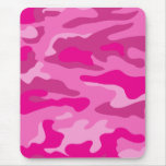Pretty Pink Camouflage Mouse Pad