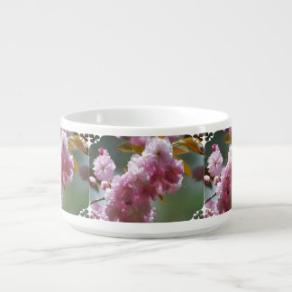 Pretty Pink Cherry Blossoms Small Soup Mug