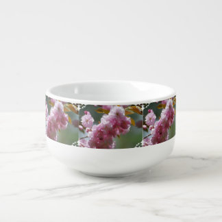 Pretty Pink Cherry Blossoms Soup Mug