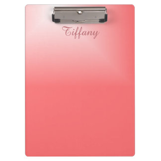 Pretty Pink Chic Clipboard