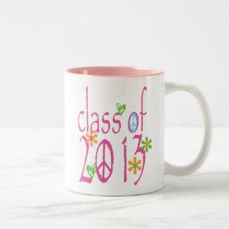 Pretty Pink Class OF 2013 Mugs