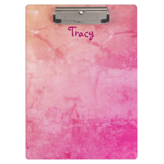 Pretty Pink Clipboard