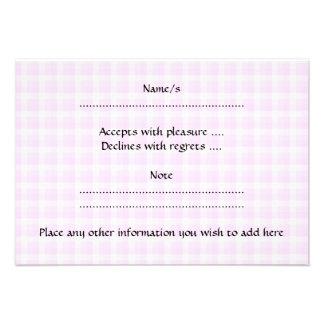 Pretty Pink Cupcake Custom Invitation