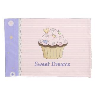 Pretty Pink Cupcake Pillow Case