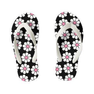 Pretty Pink Daisies Thongs