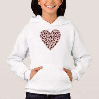 Pretty Pink Dance Heart Sweatshirt