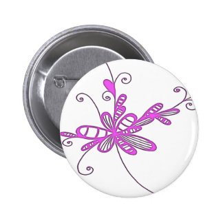 Pretty Pink Doodle Pins