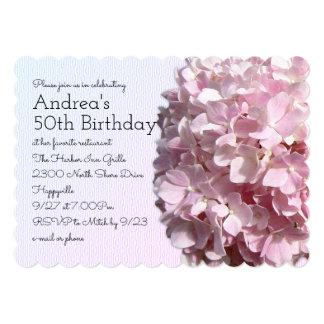 Pretty Pink Favorite Birthday Invitation