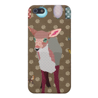 Pretty Pink Fawn & Butterflies i iPhone 5/5S Covers