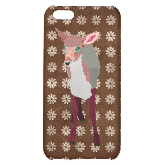 Pretty Pink Fawn Case iPhone 5C Cases
