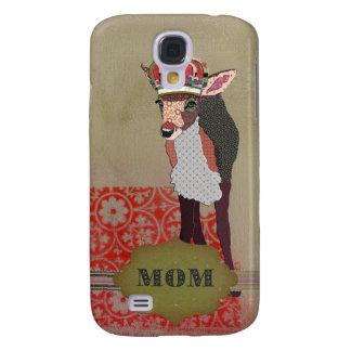 Pretty Pink Fawn Mum Samsung Galaxy S4 Covers