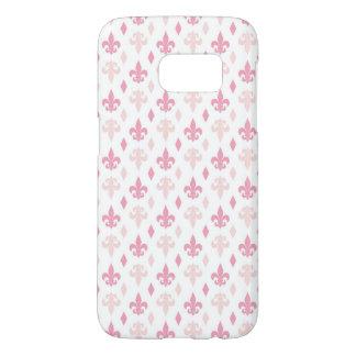 Pretty Pink Fleur de Lis Pattern