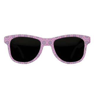 Pretty  Pink Floral Pattern Sunglasses