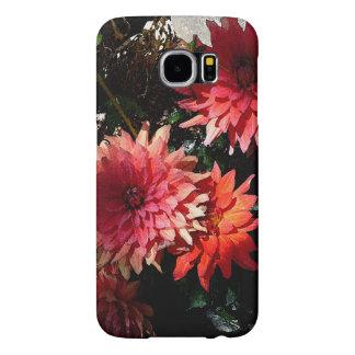 Pretty Pink Floral Samsung Galaxy S6 phone case