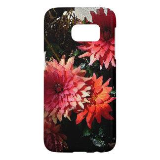 Pretty Pink Floral Samsung Galaxy S7 Phone Case