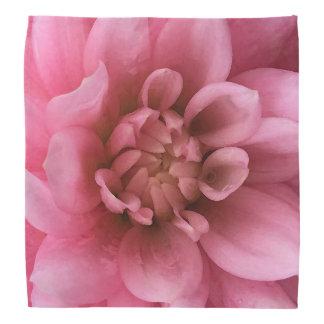 Pretty Pink Floral Watercolor Bandana