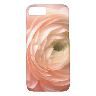 pretty pink flower petals macro photography iPhone 8/7 case